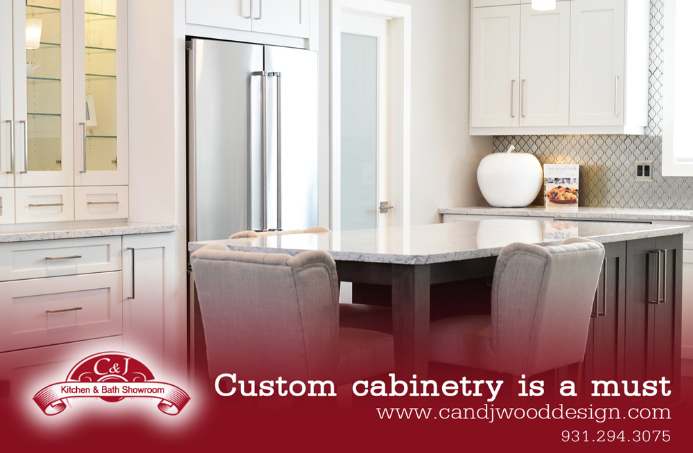Custom Cabinetry Is A Must